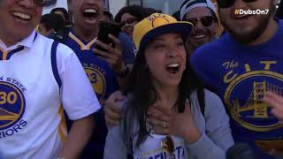 Warriors championship parade 2018 highlights
