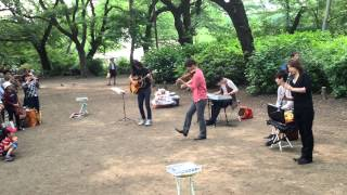 Everly(エバリー) 「ハナミズキ/一青窈」@井の頭公園「森のコンサート」