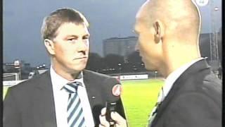 BK Häcken-Djurgårdens IF Allsvenskan 2005 Jonevretintevju - TV4