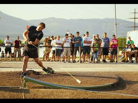 Farmers' Golf competition in Switzerland - Red Bull Hornussen