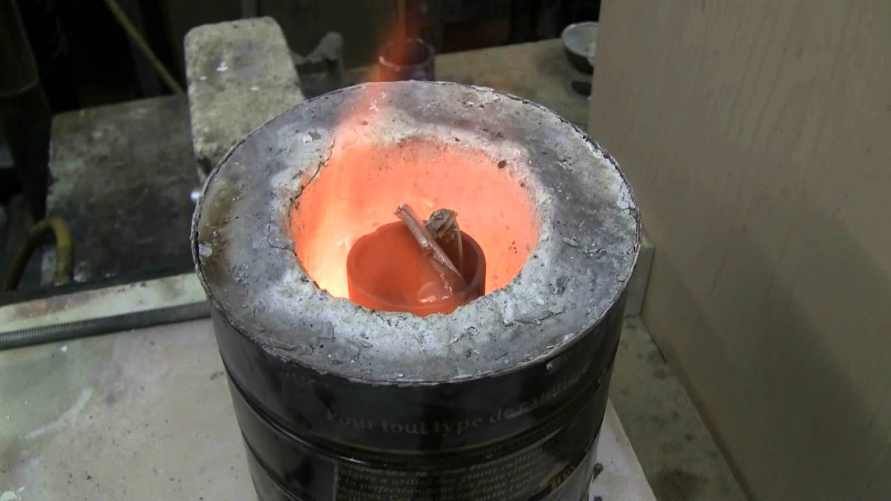 Do It Yourself Demolition : Do it yourself coffee can mini foundry intro and demo