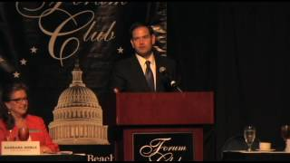 Forum Club 5,27,2016 Marco Rubio