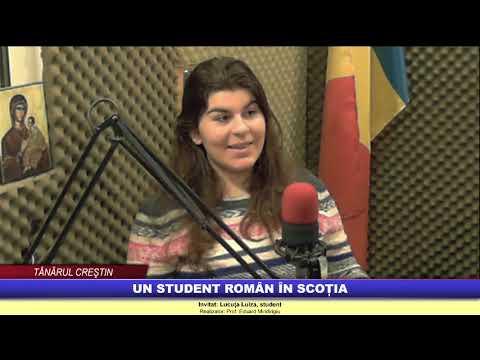 """""""Tânărul creştin"""" – Un student român în Scoția"""