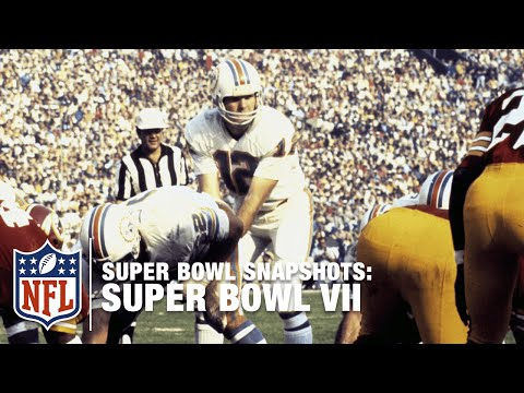 Super Bowl Snapshots: Bob Griese Remembers Super Bowl VII | NFL