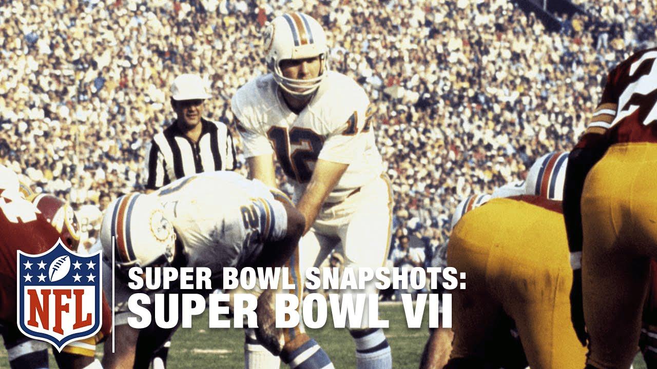 Super Bowl Snapshots: Bob Griese Remembers Super Bowl VII ...