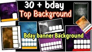 Banner background | Bday Banner background | Full HD | PicsArt Banner Background |