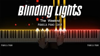 The Weeknd - Blinding Lights | Piano Cover by Pianella Piano screenshot 3