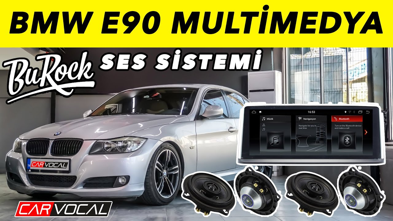 BMW E90 Multimedya ve Ses Sistemi