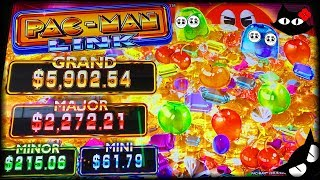NEW SLOT! Pac Man Link 💰 The Slot Cats 🎰😺😸