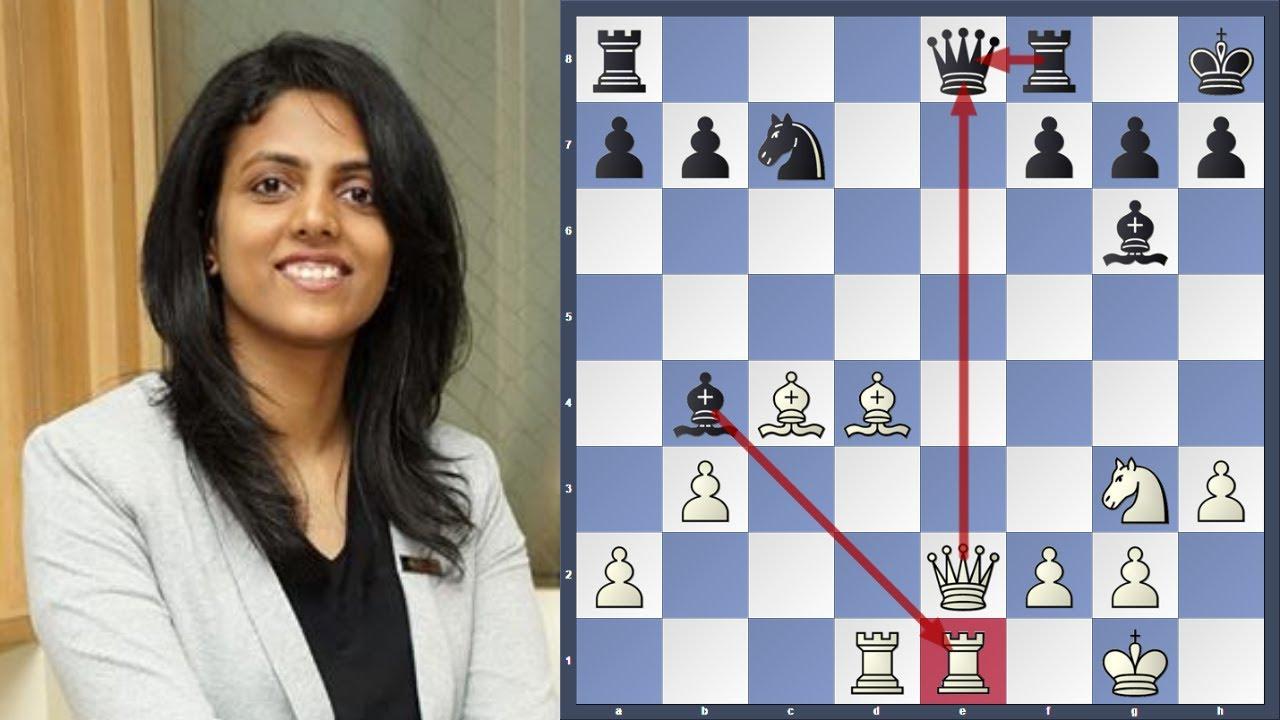 Download Harika eliminated Kosteniuk in Quarter-Finals Women's Speed Chess 2021