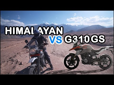 Royal Enfield Himalayan VS BMW G310GS REVIEW