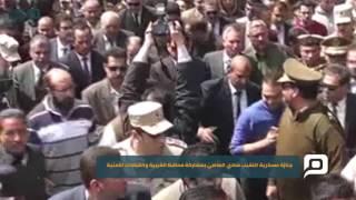 مصر العربية | جنازة عسكرية النقيب شادي العاصي بمشاركة محافظ الغربية والقيادات الأمنية