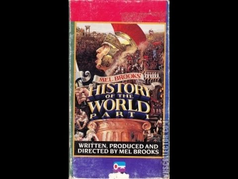 Opening To History Of The World:Part 1 1988 VHS