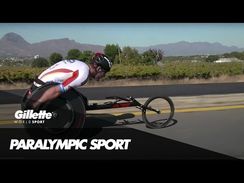 The Art of Wheelchair Racing | Gillette World Sport