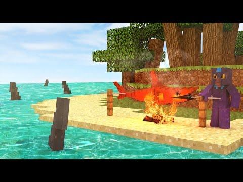 Jaws Movie 2 - SHARKS GUARD MY SECRET 11TREASURE! (Minecraft Roleplay) #5