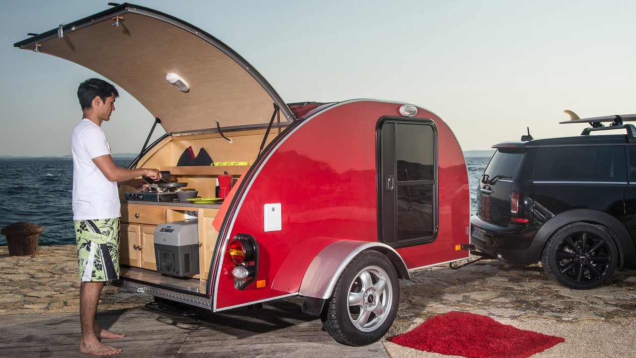 2013 mini cowley caravan concept youtube for Interieur de camping car