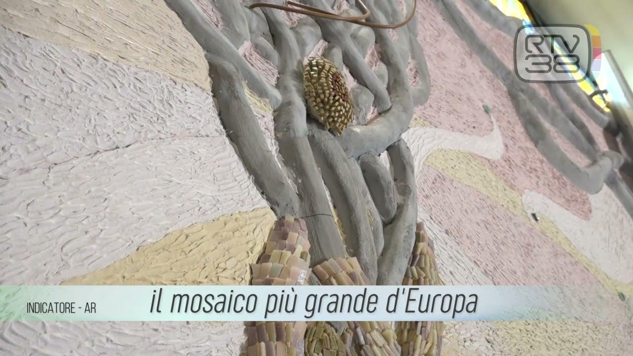 RTV38 ha raccontato il mosaico e la sua storia