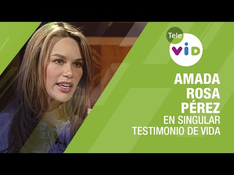 Ver Testimonio De Vida Amada Rosa Pérez – Tele VID en Español