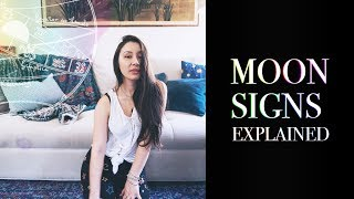 🎑Moon Signs Explained 🎑Moon Signs Astrology 🎑 Western Astrology Tropical Astrology Steph Prism 🎑