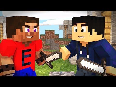 MINECRAFT: SKYWARS - ERICK VS YAN!
