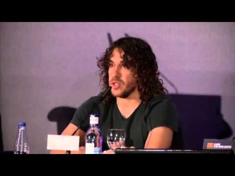 Puyol emotional media conference before leaving Barcelona