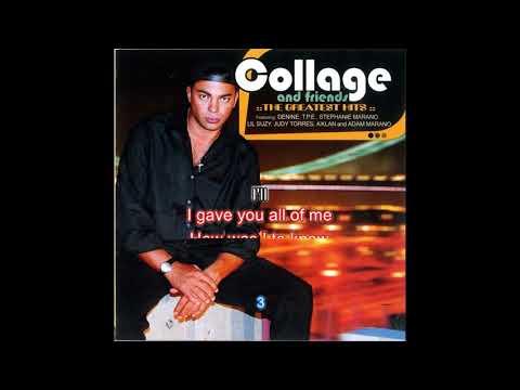 Denine feat Collage  All Cried Out w Karaoke Lyrics