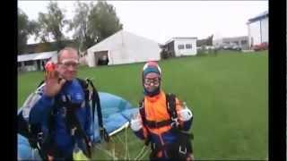 Прыжок с парашютом в подарок дочке