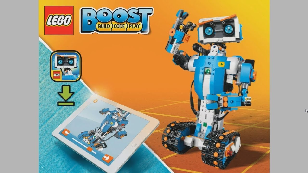 2017 Lego Boost 17101 Creative Toolbox Vernie The Robot