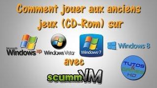 [TUTO] Comment jouer aux anciens jeux (CD-ROM) sur Windows XP, Vista, 7, ou 8 avec ScummVM [FR/HD]