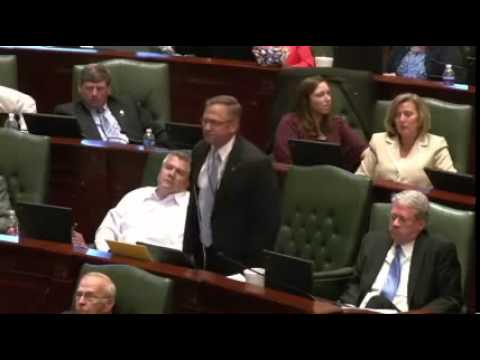 "IL Rep. Goes CRAZY On House Floor ""Let My People Go"".mp4"