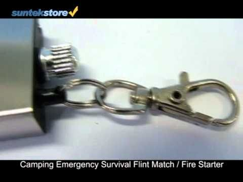 SuntekStore: Camping Emergency Survival Flint Match / Fire S