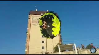 Удар струмом під час катання на парашуті в Джубги