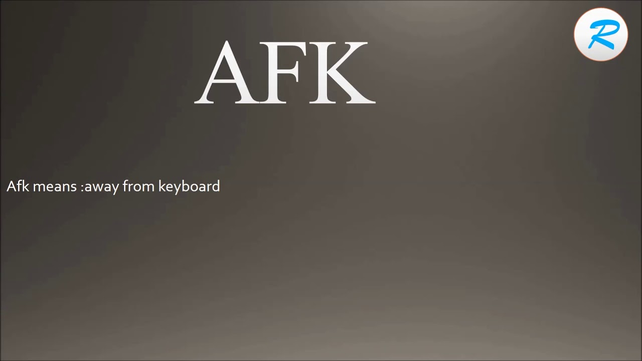 How to pronounce AFK ; AFK Pronunciation ; AFK meaning ; AFK definition