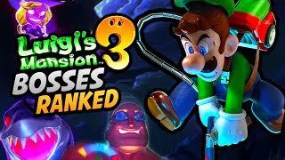 Ranking Every FLOOR Ghost Boss Fight in Luigi's Mansion 3 - Worst to Best!
