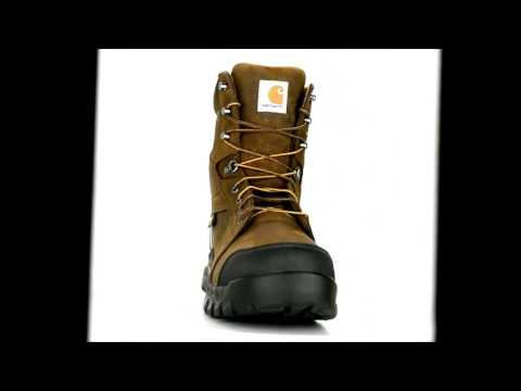 Men's Carhartt 8 Inch Composite Toe Waterproof Metguard Boot CMF8720 @ Steel-Toe-Shoes.com