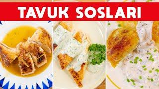 Hep Aynı Tavuğu Yemekten Sıkılanlara Ferhat Şef&#39ten 4 Farklı Tavuk Sosu Tarifi  #SOSLAR B1