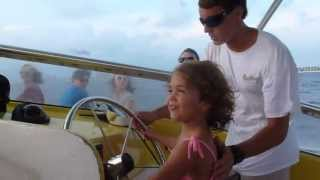 Brooklyn Steering the Sea Screamer