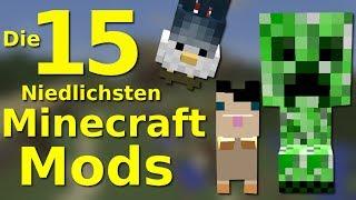 DIE 15 NIEDLICHSTEN Minecraft MODS!!