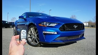 2018 Ford Mustang GT Premium: Start Up, Exhaust, Test Drive and Review