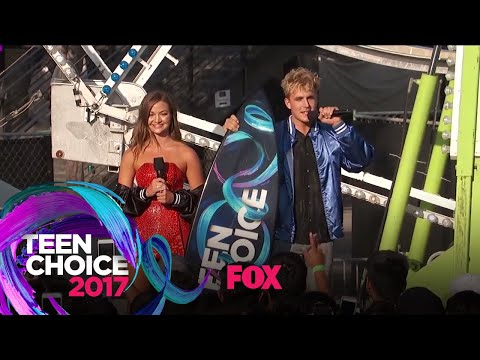 "Jake Paul Wins The ""Choice Music Webstar"" & ""Choice YouTuber"" Awards 