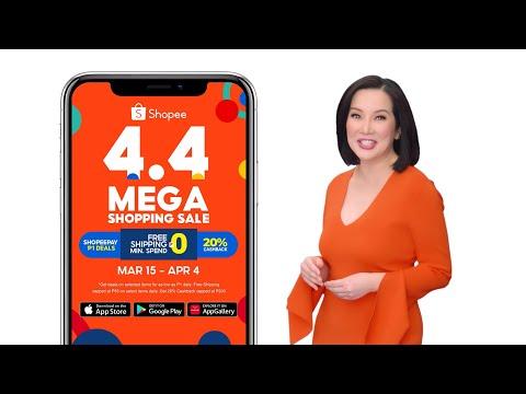 Shopee 4.4 Mega Shopping Sale TVC 16x9 30s