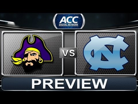 Preview | East Carolina Vs North Carolina | ACCDigitalNetwork