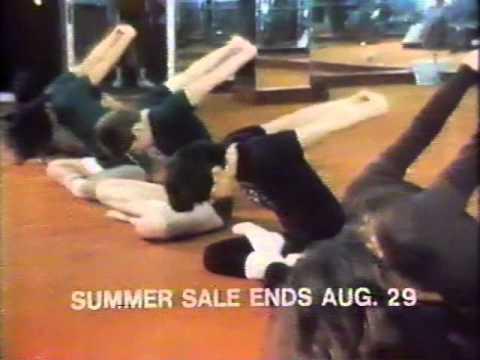 New York Health & Racquet Club 1980 TV commercial