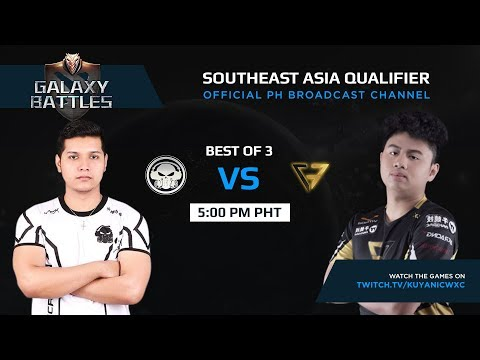 Execration vs Clutch Gamers Game 1 (BO3) | Galaxy battles SEA Qualifiers