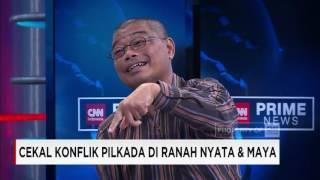 Cekal Konflik Pilkada Jakarta di Ranah Nyata & Maya