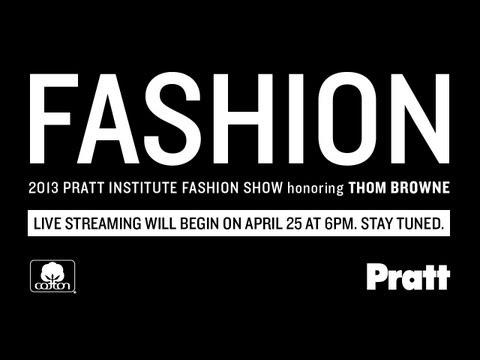 2013 Pratt Institute Fashion Show + Cocktail Benefit