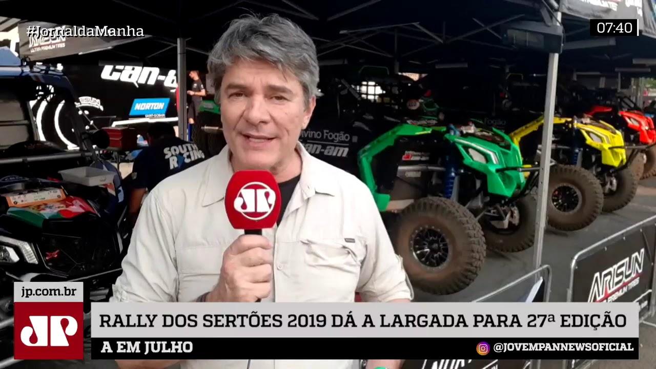 JOVEM PAN NEWS - Tudo pronto pra largada da 27ª edição do maior Rally das Américas, o Sertões