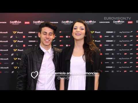 #AskEurovision: Question for Michele Perniola and Anita Simoncini (San Marino)