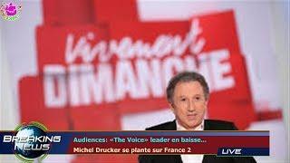 Audiences: «The Voice» leader en baisse...  Michel Drucker se plante sur France 2
