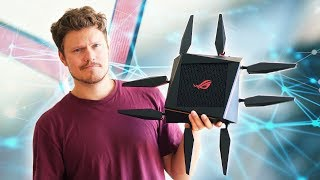 INSANE Gaming Wifi Router ... With Crazy Distance Coverage!
